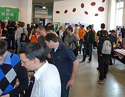Besucher auf den Grazer Linuxtagen 2011