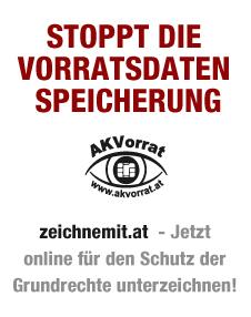 Stoppt die Vorratsdatenspeicherung in Österreich