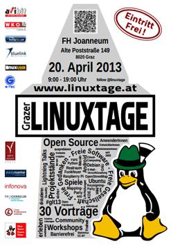 Linuxtage 2013 Programm