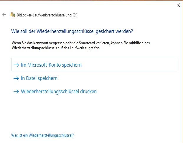windows10 bitlocker