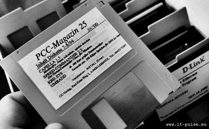 floppy disk disketten