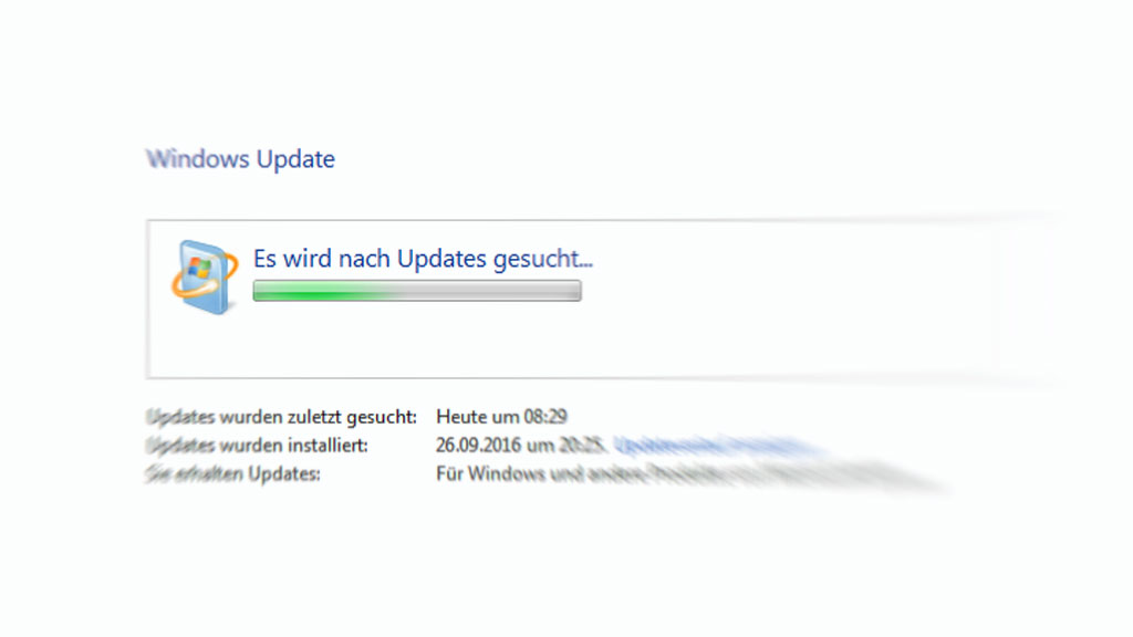 Windows Update hängt: Wie man die Update-Funktion repariert