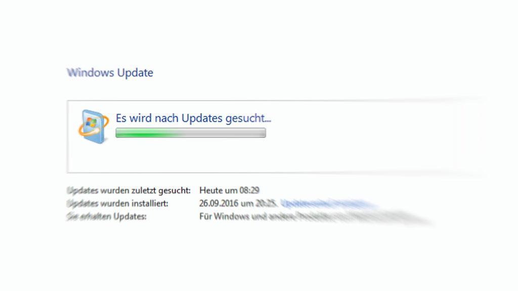 Windows Update hängt: Wie man die Update-Funktion repariert